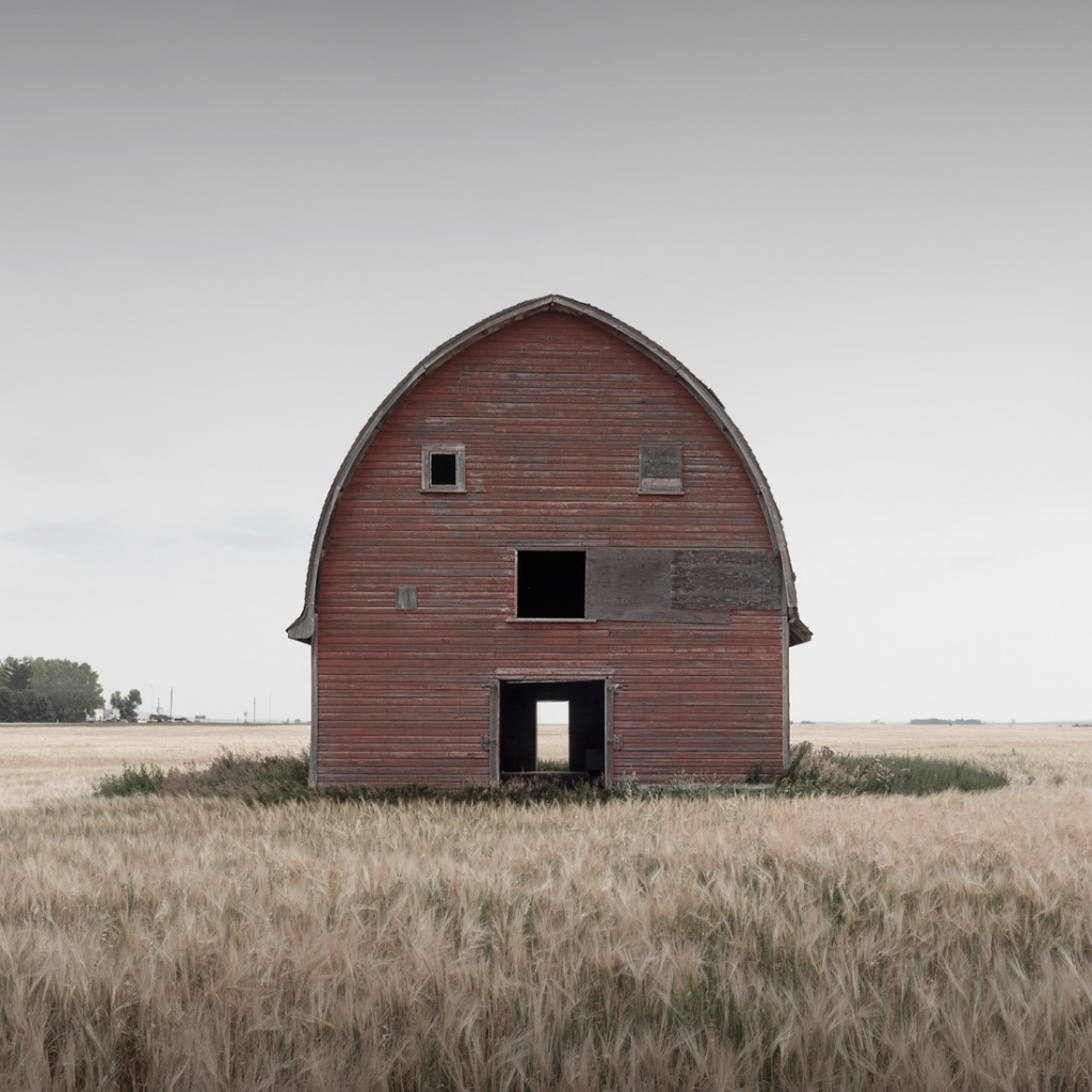 Abandoned structures on Prairies