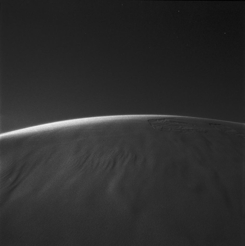 Dune at night