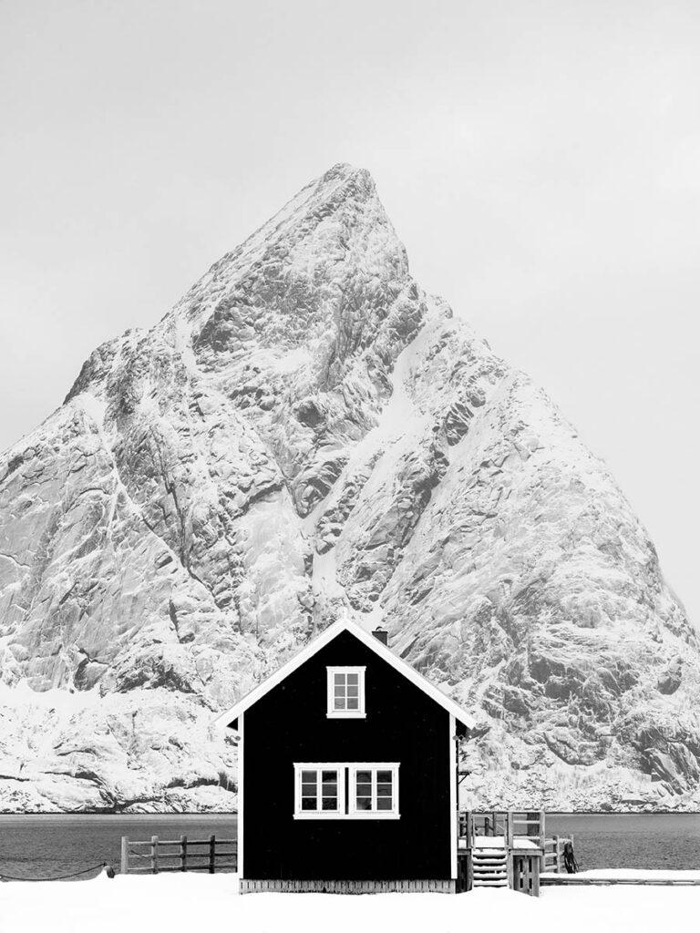 Fisherman's cabin on the Lofoten Islands