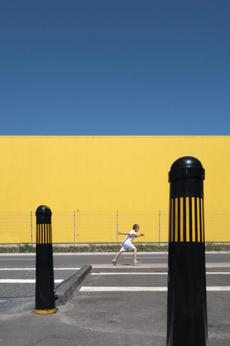 People in urban Landscape
