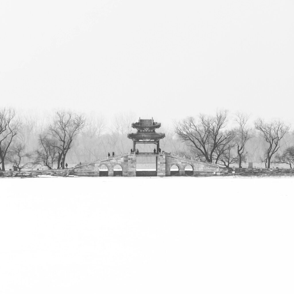 Summer Palace in Winter Coat